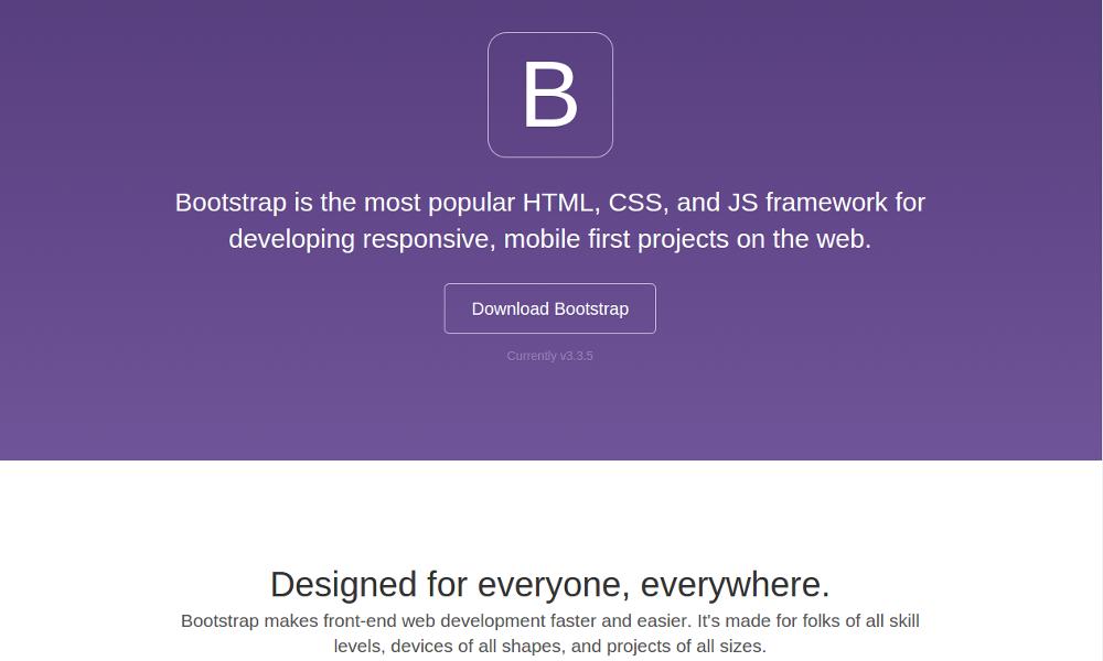 Default Bootstrap Theme